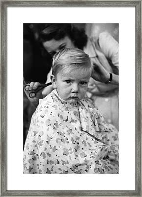 It's Only A Trim Framed Print by John Chillingworth