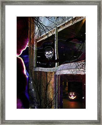 It's The Night When... Framed Print by Shirley Sirois
