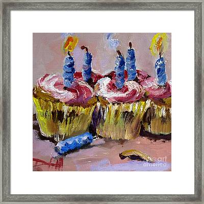 It's Your Birthday Framed Print by Delilah  Smith