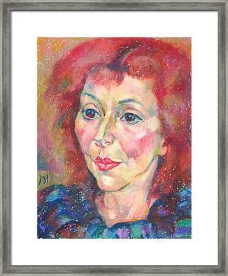Ivanka Stoyanova Framed Print by Leonid Petrushin