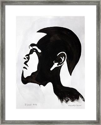 J. Cole Framed Print