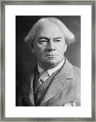 J. K. Jerome 1859-1927 Popular English Framed Print
