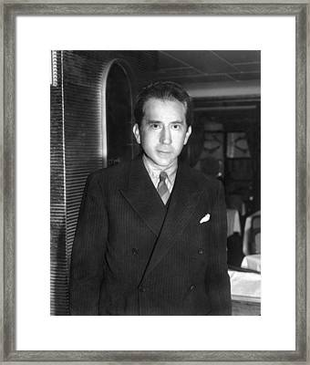 J. Paul Getty, Ca. 1957 Framed Print by Everett
