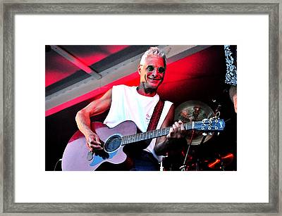 Jack Bordo With Old Friends Band Reunion 2010 Framed Print by Mary Frances
