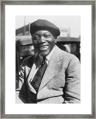 Jack Johnson 1878-1946, Former Framed Print by Everett