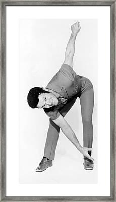 Jack Lalanne, 1970s Framed Print