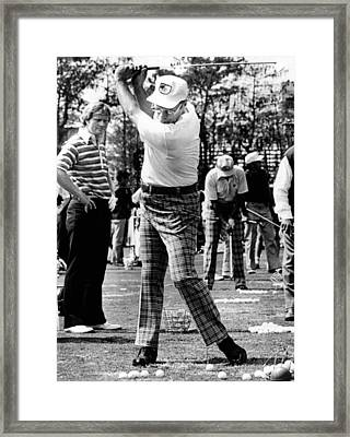 Jack Nicklaus L Watches President Fords Framed Print by Everett