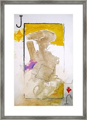 Jack Of Diamonds 7-52  2nd Series Framed Print