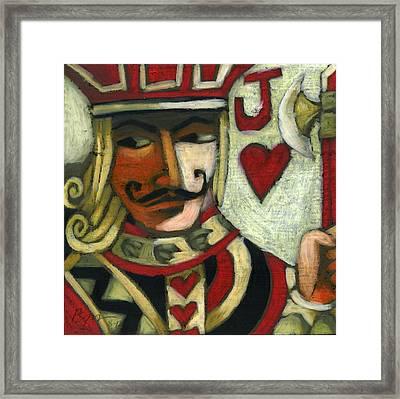 Jack Of Hearts Framed Print