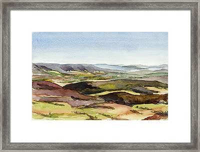 Jacks Mountain View Framed Print by Jeff Mathison