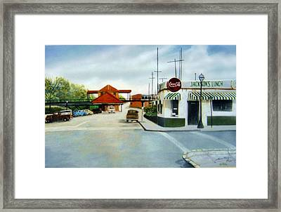 Jackson's Lunch  Sold Framed Print