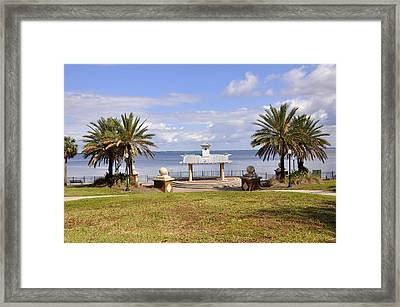 Framed Print featuring the photograph Jacksonville Park View by Sarah McKoy