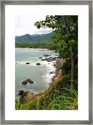 Jaco Pacific Coast Costa Rica Framed Print by Michelle Wiarda
