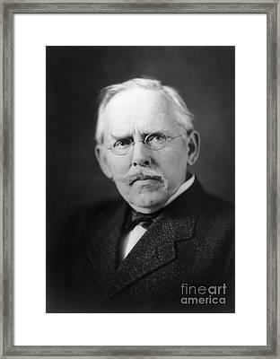 Jacob A. Riis (1849-1914) Framed Print