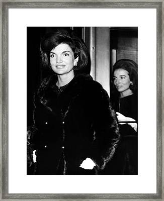 Jacqueline Kennedy And Her Sister Lee Framed Print by Everett