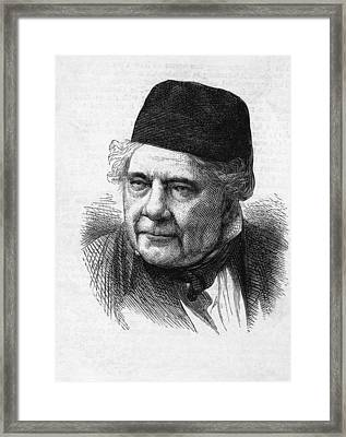Jacques Babinet, French Physicist Framed Print