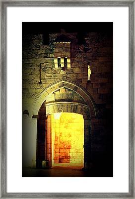 Jaffagate Framed Print by Amr Miqdadi