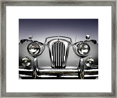 Jag Convertible Framed Print