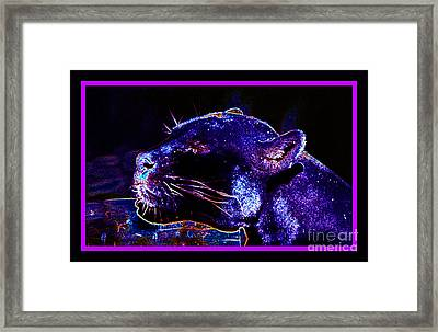 Jaguar Dreaming Your Tomorrow Framed Print