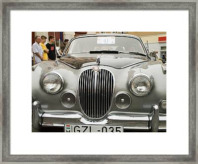 Jaguar Framed Print by Odon Czintos
