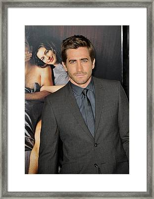 Jake Gyllenhaal At Arrivals For Afi Framed Print by Everett