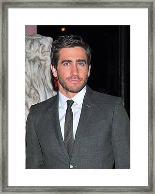 Jake Gyllenhaal At Arrivals For Finca Framed Print by Everett