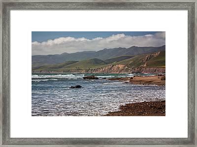 Jalama Beach Framed Print by Ken Wolter