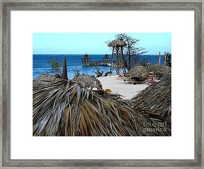 Jamaican Paradise Framed Print by Anne Gordon