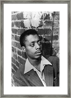 James Baldwin, 1953 Framed Print