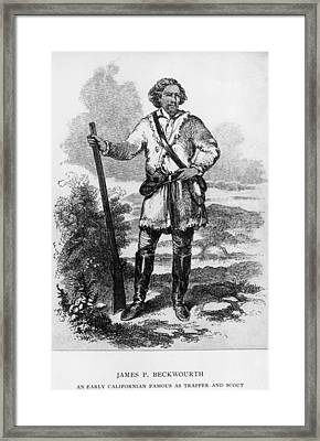 James Beckwourth, 1798�1867, African Framed Print by Everett