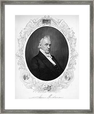 James Buchanan (1791-1968) Framed Print by Granger