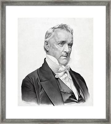 James Buchanan Framed Print by International  Images