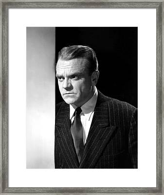 James Cagney, Portrait, 1950s Framed Print by Everett