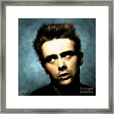 James Dean Framed Print by Arne Hansen