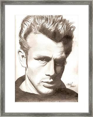 James Dean Framed Print by Michael Mestas