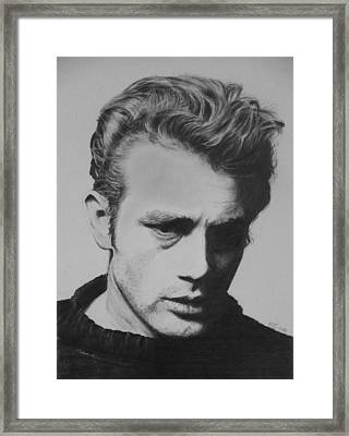 James Dean Framed Print by Mike OConnell