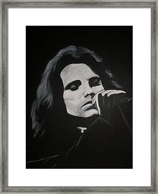 James Douglas Morrison Framed Print