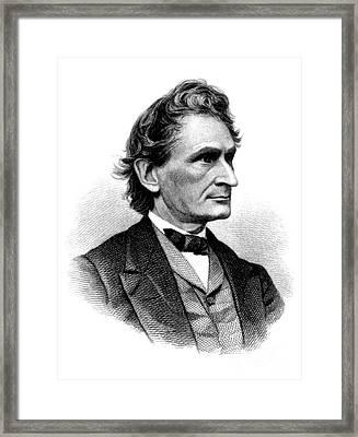 James Dwight Dana, American Geologist Framed Print