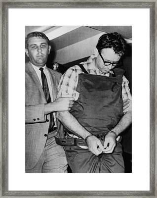 James Earl Ray, Assassin Of Dr. Martin Framed Print by Everett