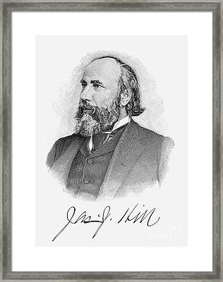 James Jerome Hill Framed Print by Granger