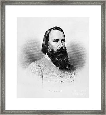 James Longstreet (1821-1904) Framed Print by Granger