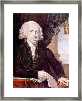 James Madison 1751-1836, U.s. President Framed Print