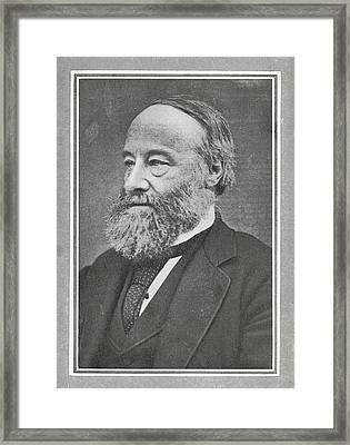 James Prescott Joule, British Physicist Framed Print