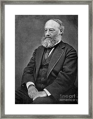 James Prescott Joule, English Physicist Framed Print by Science Source