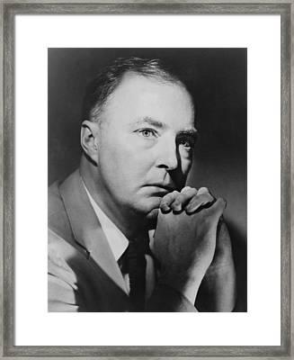 James Purdy, B. 1923 American Novelist Framed Print by Everett