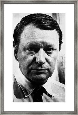 James Reston (1909-1995) Framed Print by Granger