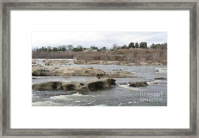 James River. Richmond Va Framed Print