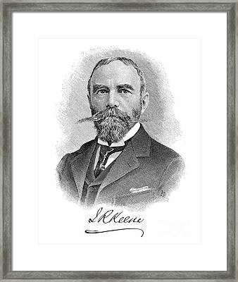 James Robert Keene Framed Print by Granger