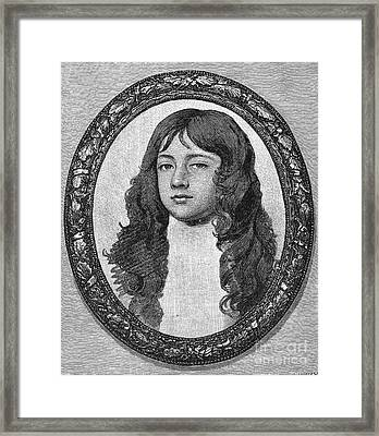 James Scott (1649-1685) Framed Print by Granger