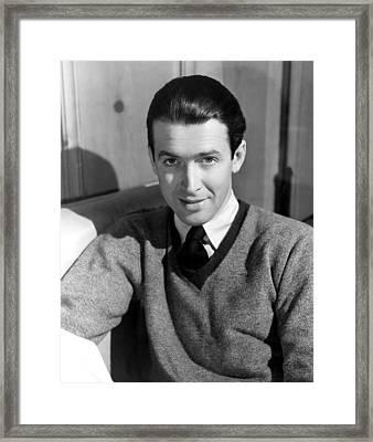 James Stewart, 31741 Framed Print by Everett